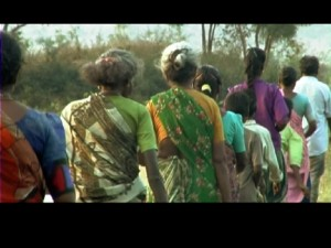 Dalit women in village