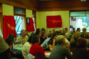 IWD fundraising dinner in Wellington